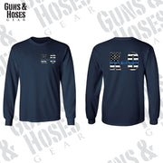 K-9 USA Thin Blue Line (Men's Long Sleeve)