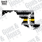 Maryland Sticker Decal