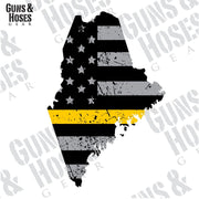 Maine Sticker Decal