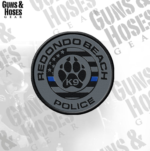 Redondo Beach PD K-9 Patch
