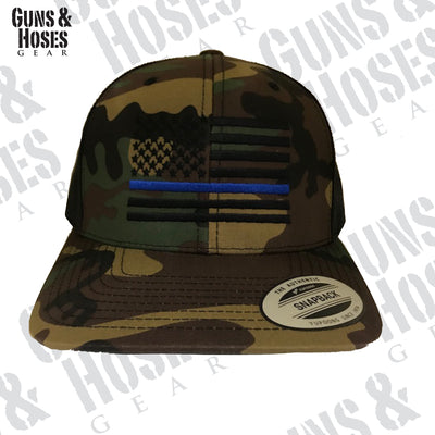 USA Thin Blue Line Snapback