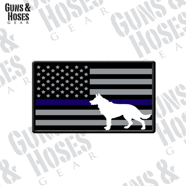 US Flag Dog Patch