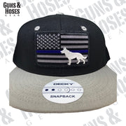 USA TBL Flag with Dog Snapback Hat