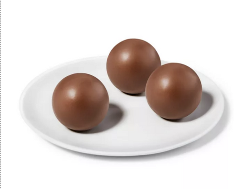 3 perfectly sealed hot chocolate bombs
