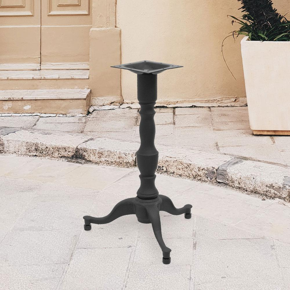 1000 Series Cast Iron Dining Table Base #base size_22''