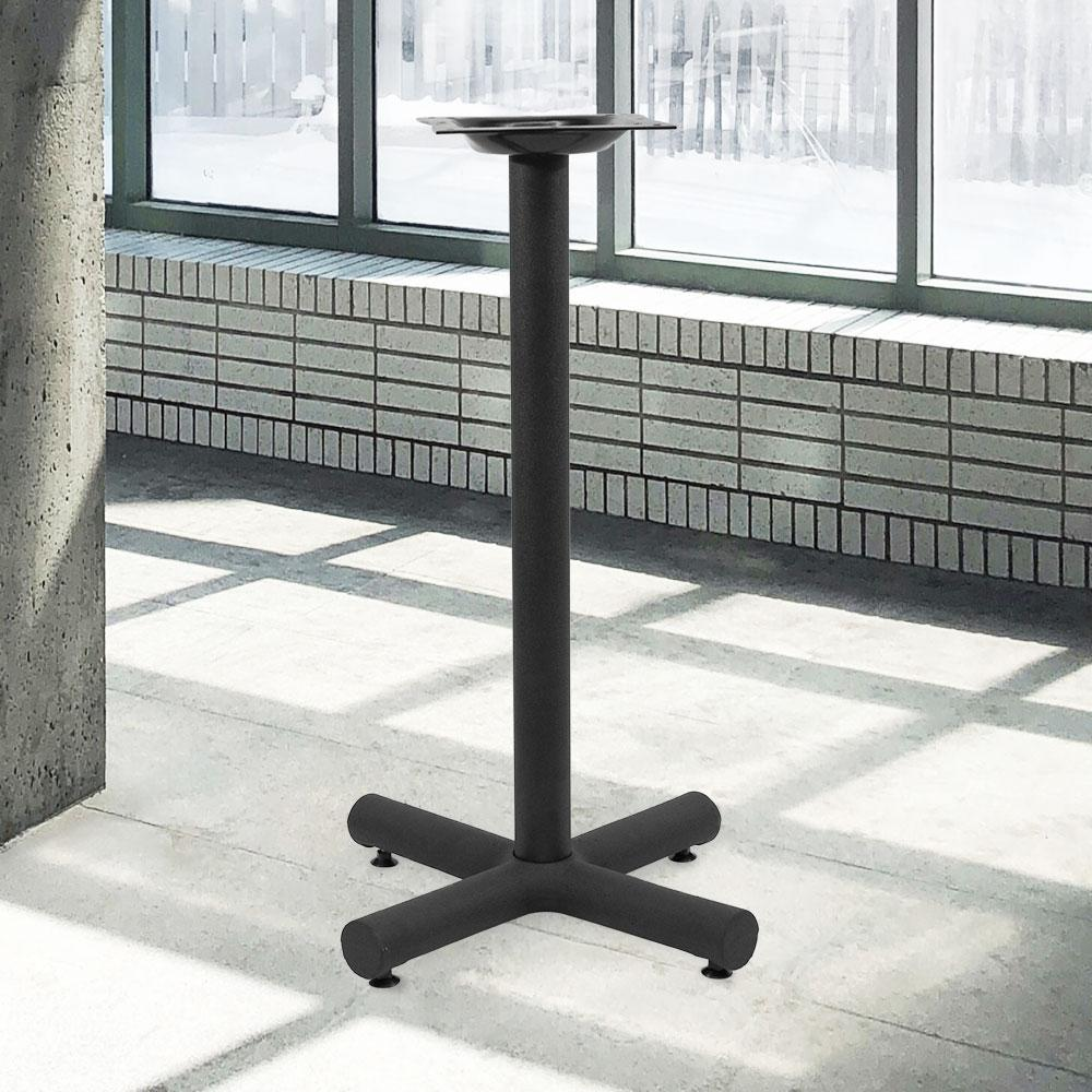 1200 Series Cast Iron Table Base #base size_18''