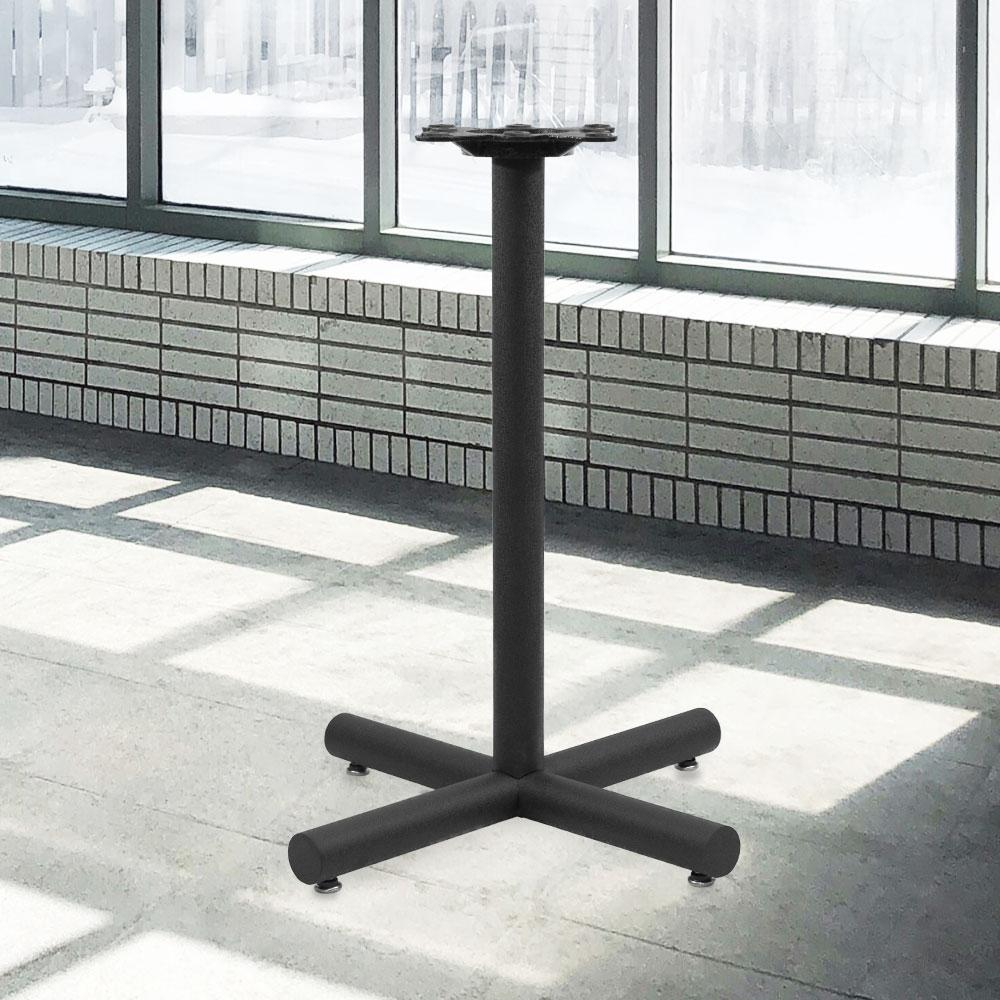 1200 Series Cast Iron Table Base #base size_22''