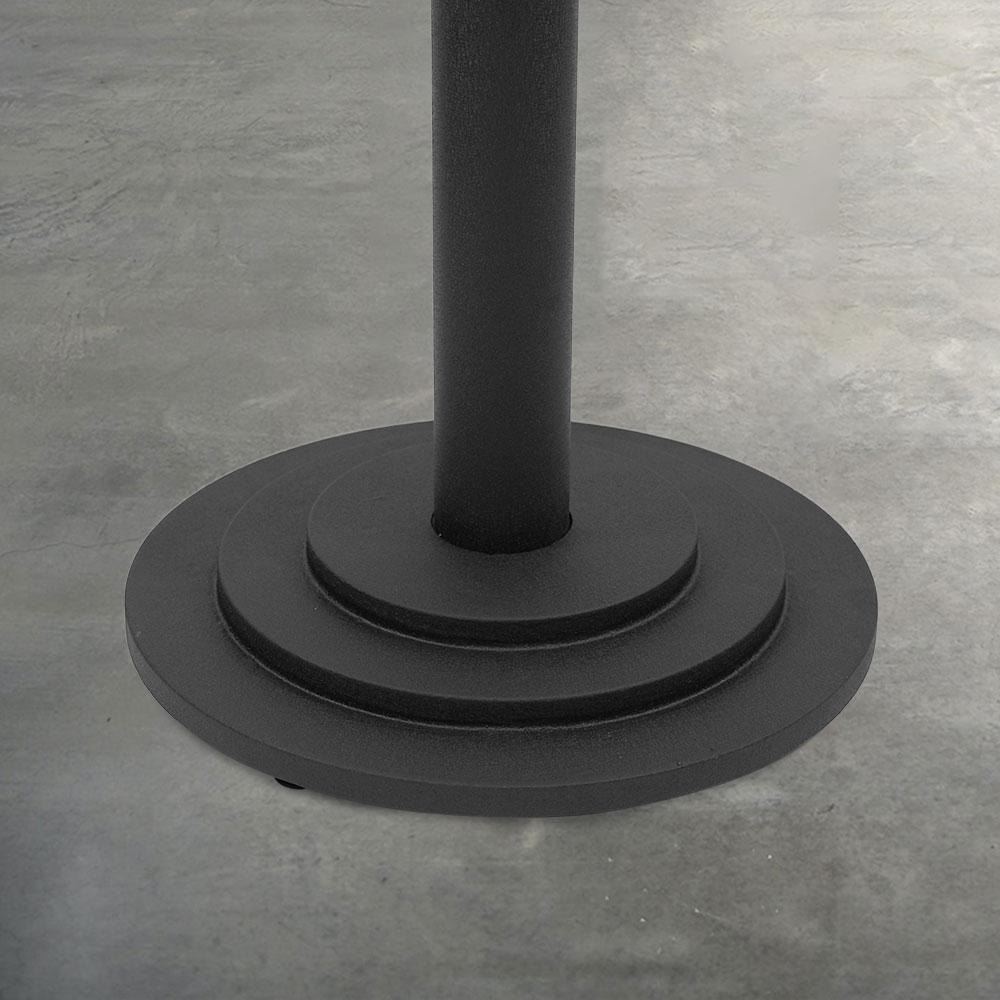 2000 Series Cast Iron Round Table Base #base size_22''