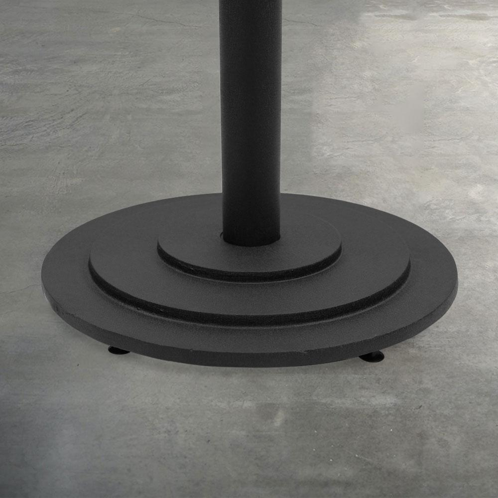 2000 Series Cast Iron Round Table Base #base size_30''
