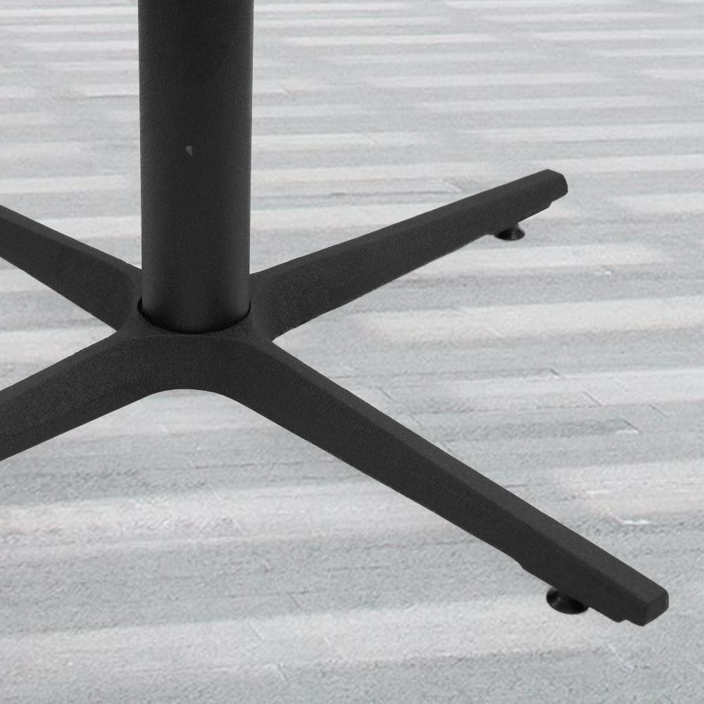 2900 Series Cast Iron Cross Table Base #base size_24''