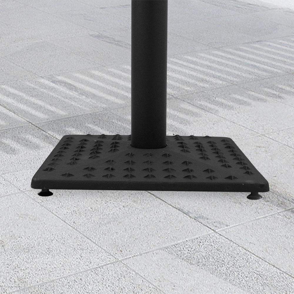 Fuji Star 889 Series Cast Iron Square Table Base #base size_17''