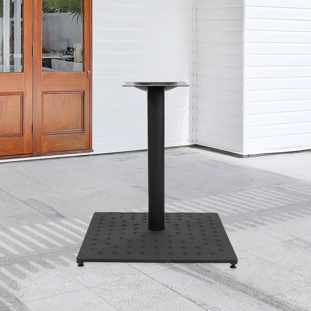 Fuji Star 889 Series Cast Iron Square Table Base #base size_22''