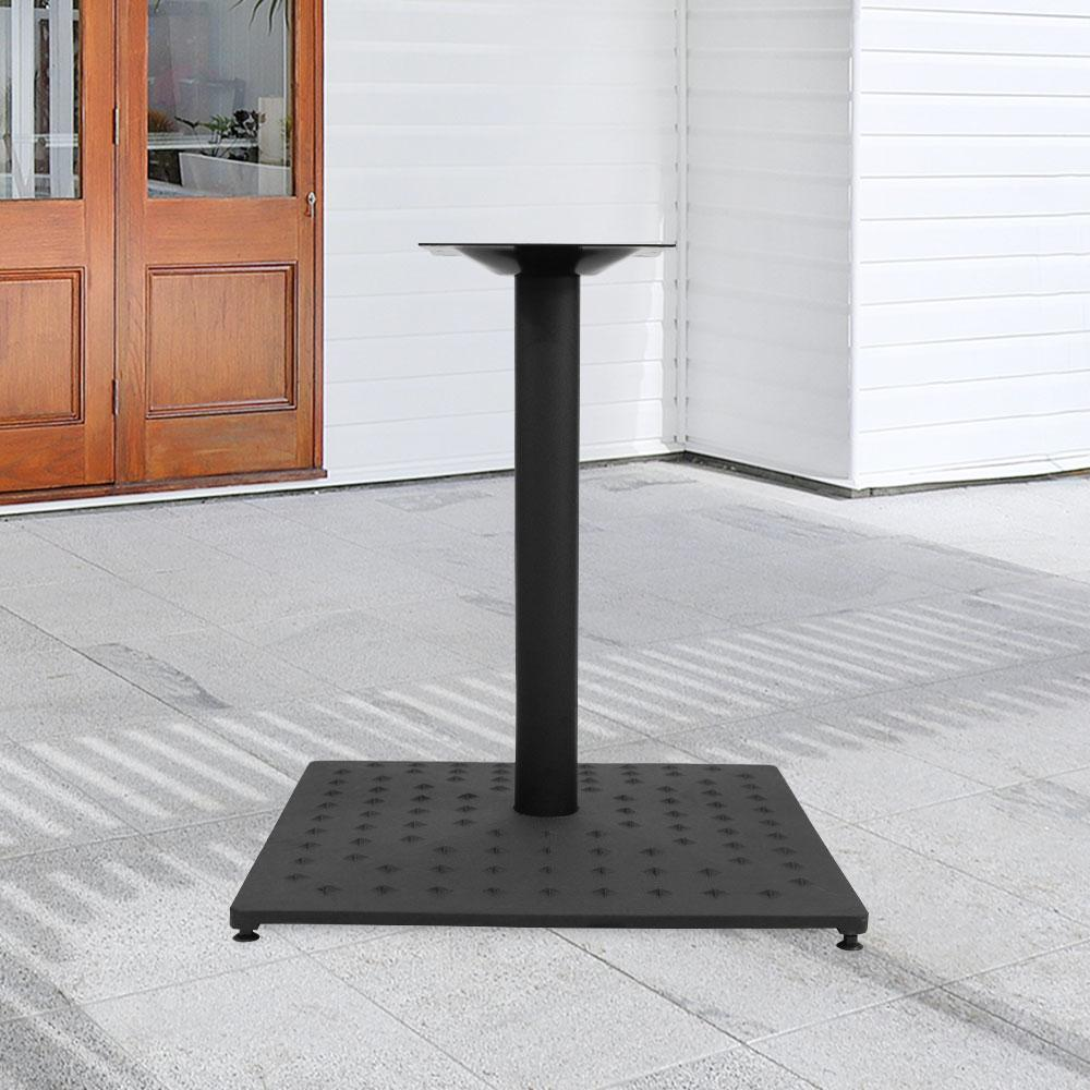 Fuji Star 889 Series Cast Iron Square Table Base #base size_26''