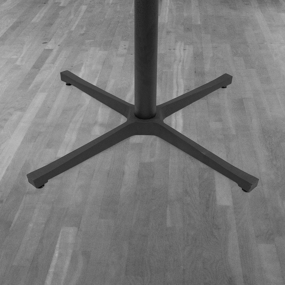 8900 Series Cast Iron Cross Table Base #base size_30''