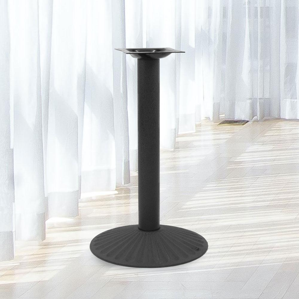 B500 Black Table Base #base size_17''