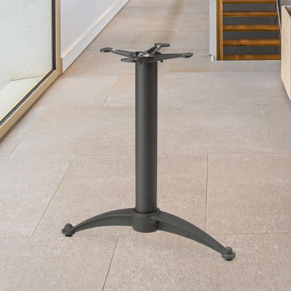 Blade Series Cast Iron Table Base #base size_26''