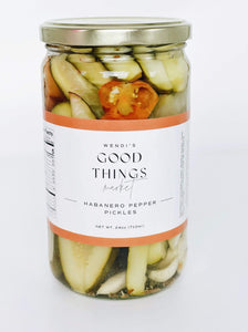 Habanero Pepper Pickles