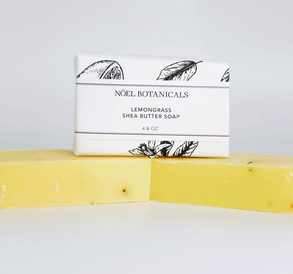 Lemongrass Shea Butter Soap - Noel Botanicals