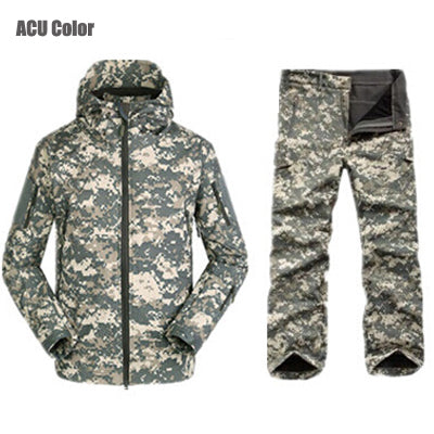 Tactical Jackets Men Outdoors Hunting Clothes Windproof