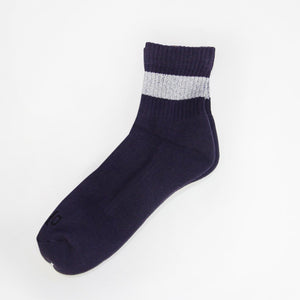 Original Charcoal Glitter Line Socks M