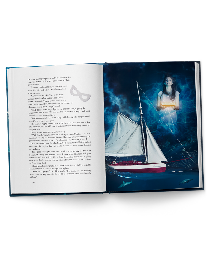 ILVIE LITTLE and the Fearless Sailors, Book 1 - Hardcover, 21x28 cm, 160 pages - ilvielittle