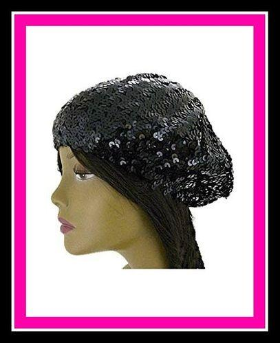 GM Essence Sequin Beret