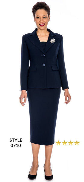 Church Usher Uniform Suit - Navy (0710)