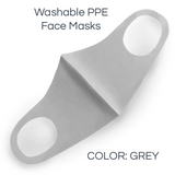 Usher Face Masks THREE PER PACK (Nine Color Choices)