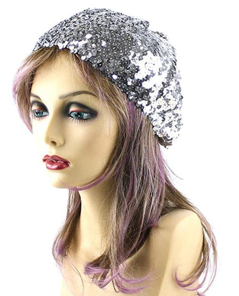 Lady Diane Sequin Beret