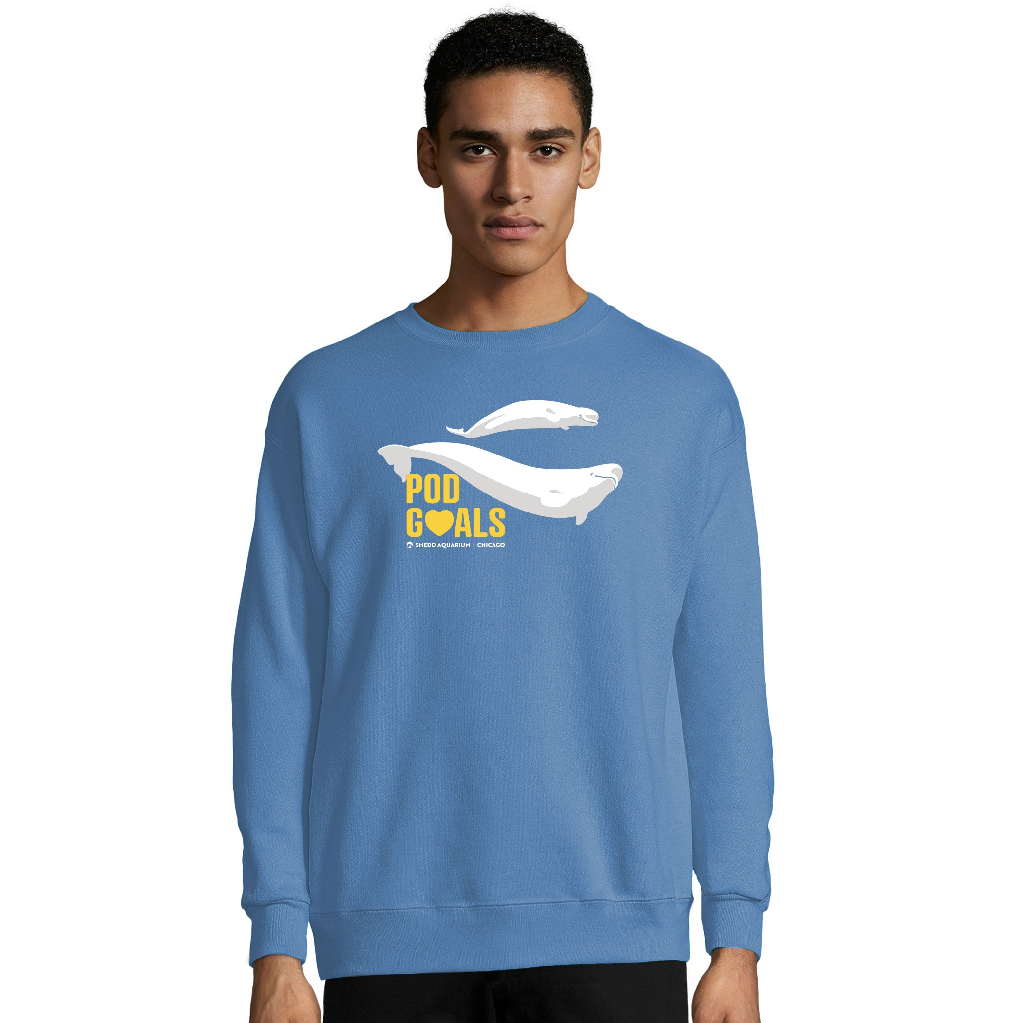 Pod Goals Beluga Adult Sweater