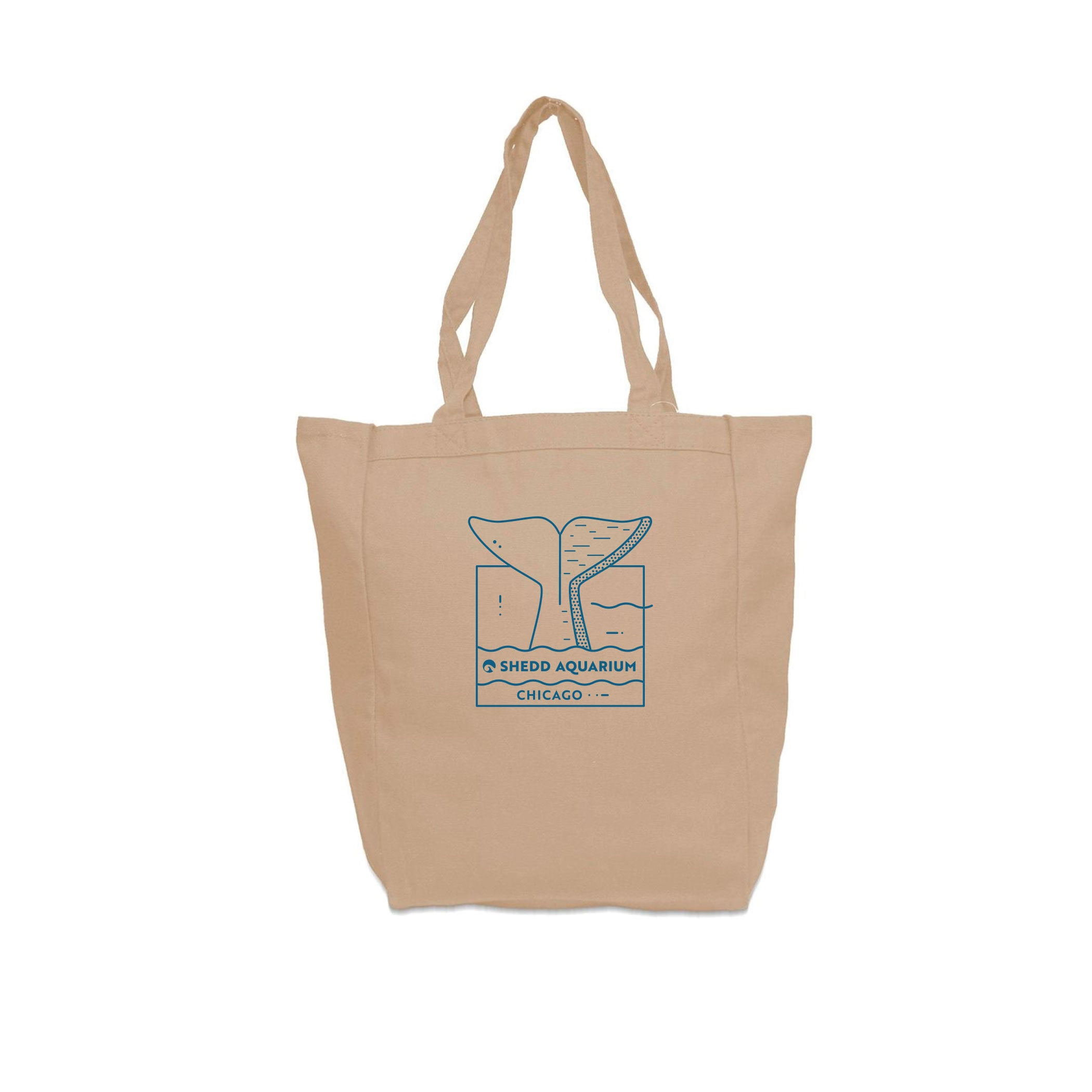 Beluga Tail Chicago Tote Bag