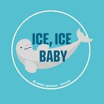 Load image into Gallery viewer, Ice Ice Baby Beluga Baby Onesie