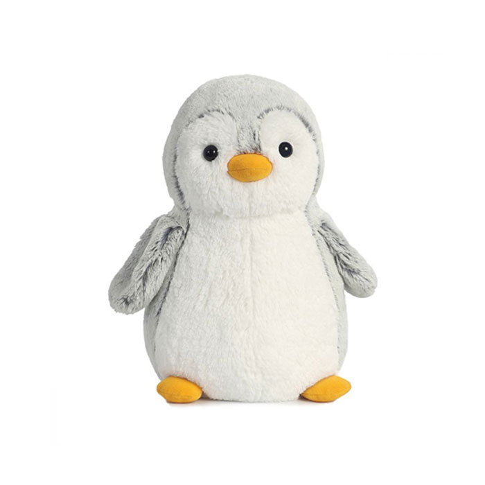 "Baby Grey Penguin 13"" Plush"
