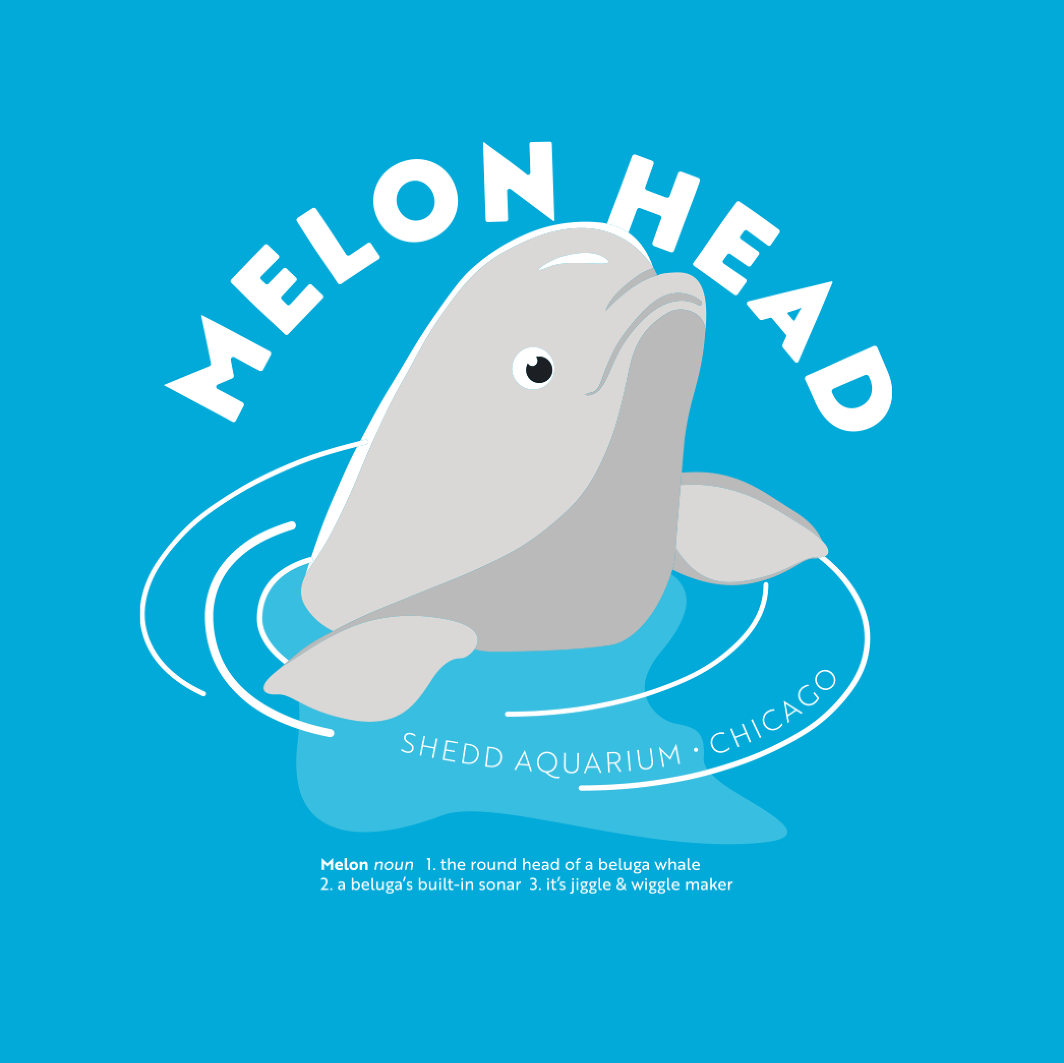 Beluga Melon Head Infant Shirt