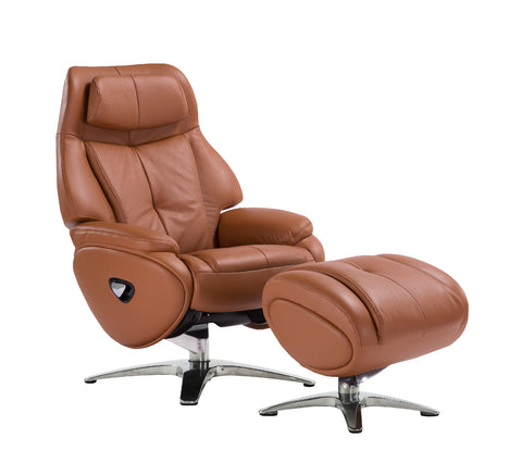 Alpha 168 (Tobacco) Recliner Chair *ONLINE ONLY*