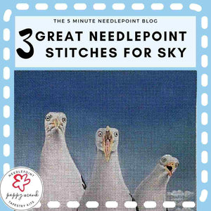 Needlepoint Stitches For Sky - Three Fab Ideas
