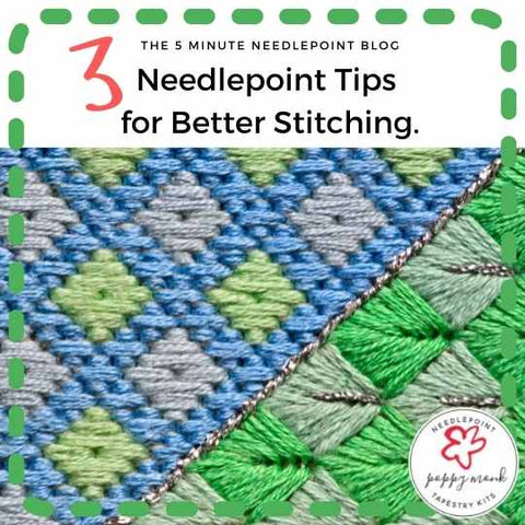 needlepoint tips for better stitching blog post