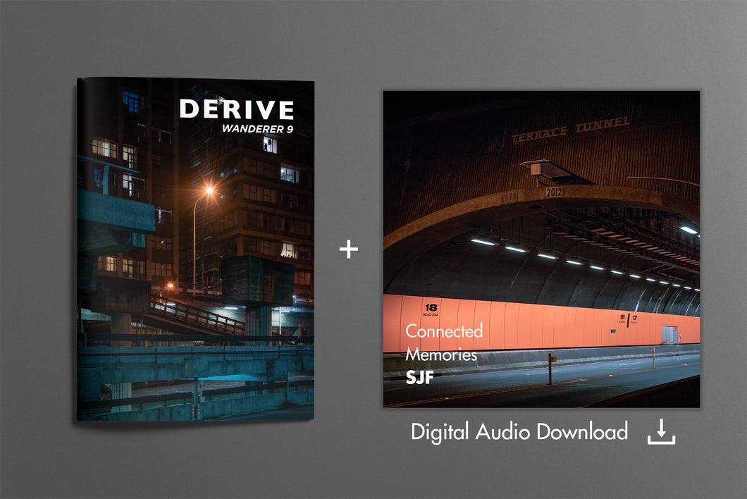 DERIVE Wanderer ZINE #9 + Digital Soundtrack