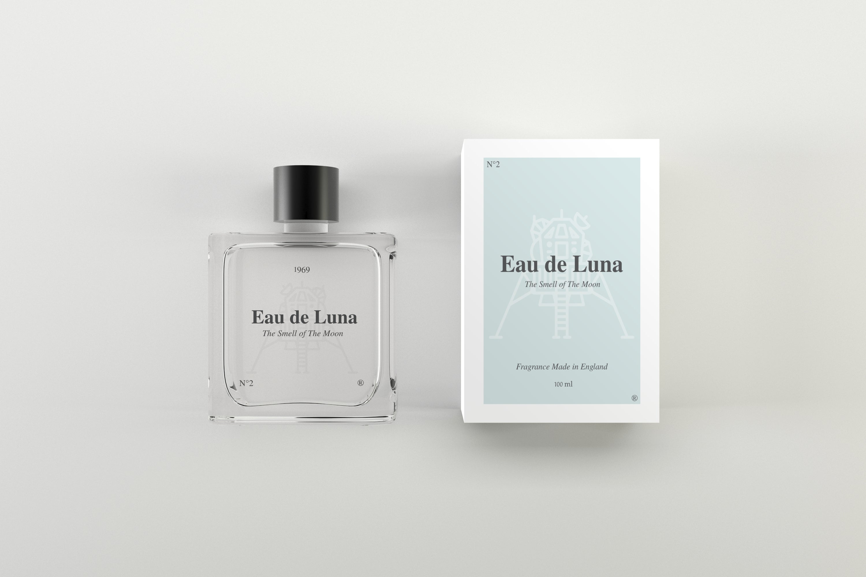 "Eau de Luna - ""The Smell of the Moon"" Fragrance, 100ml"