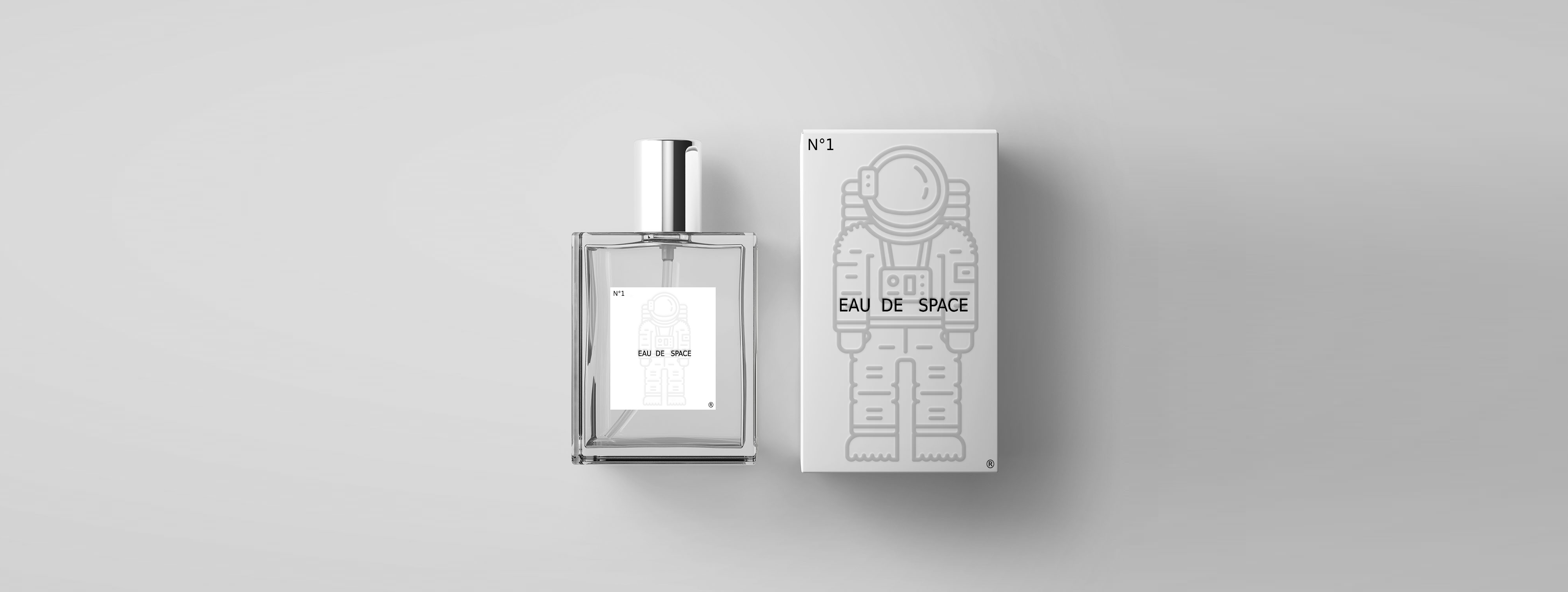 "Eau de Space - ""The Smell of Space"" Fragrance, 100ml"