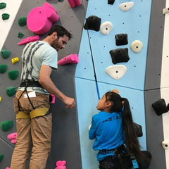 Kevin Jorgeson taught climbing skills