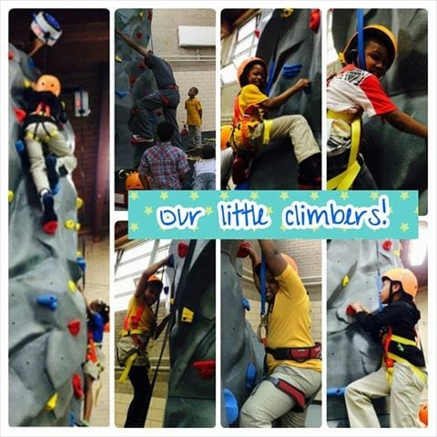 Little Climbers at Chicago's Rebecca K. Crown Youth Center