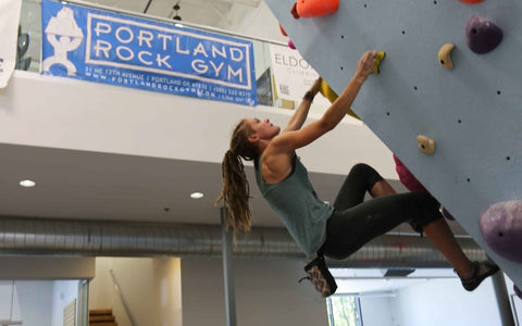 Grand Opening of the Portland Rock Gym Expansion