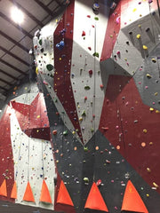 Fitness gyms around the country are adding climbing walls.