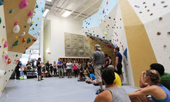 One way to reduce risk is to train ALL boulderers how to fall
