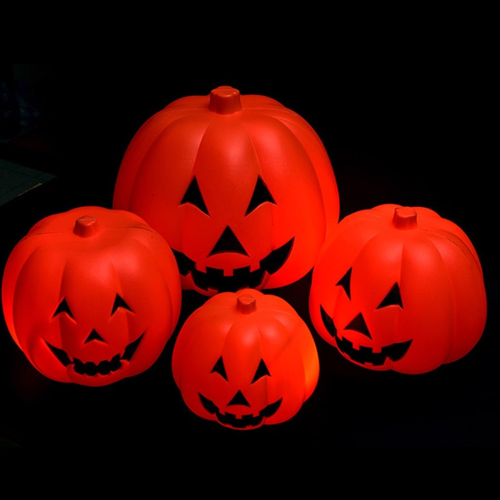 Halloween Electric Pumpkin Projection Lamp