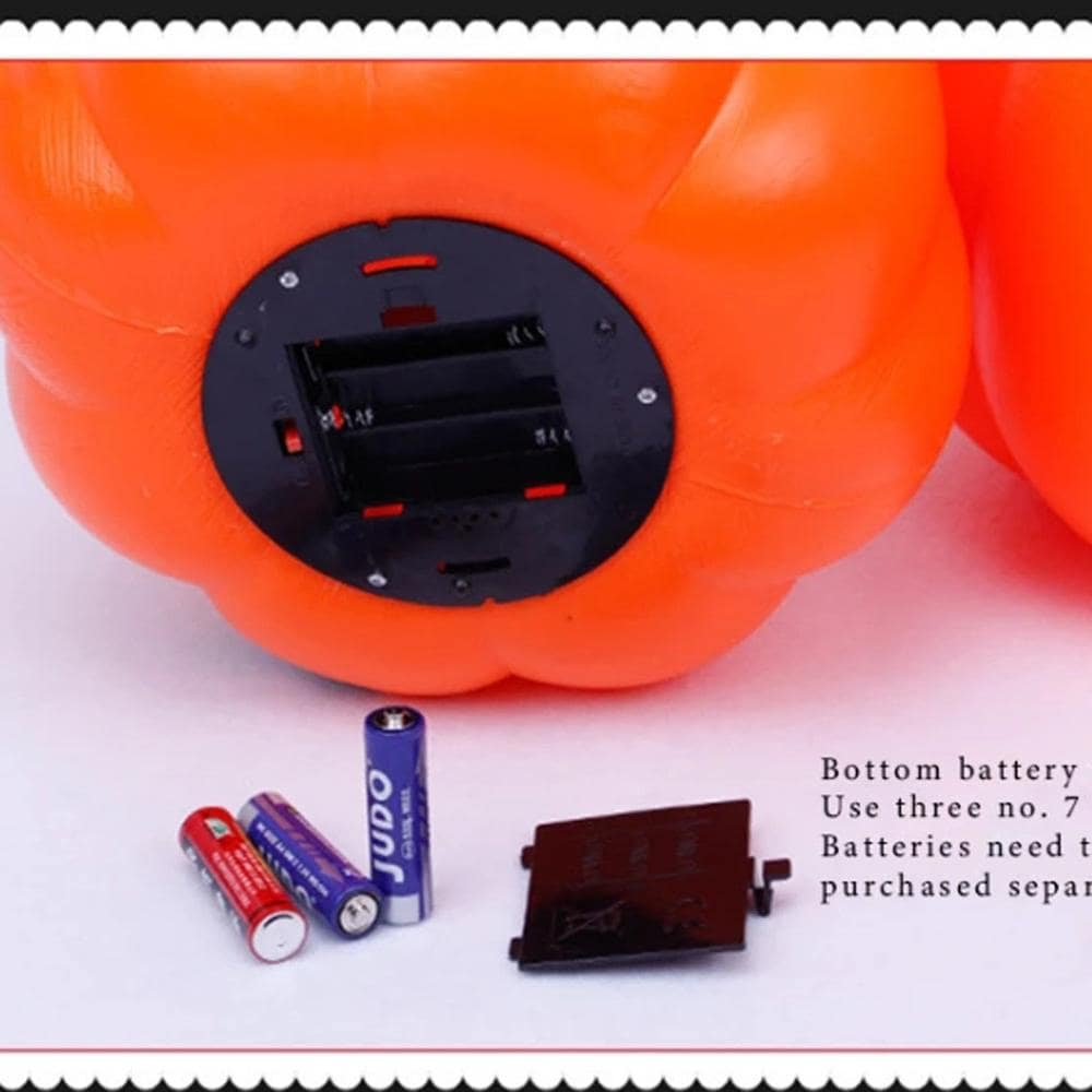 Halloween Electric Pumpkin Projection Lamp Charger