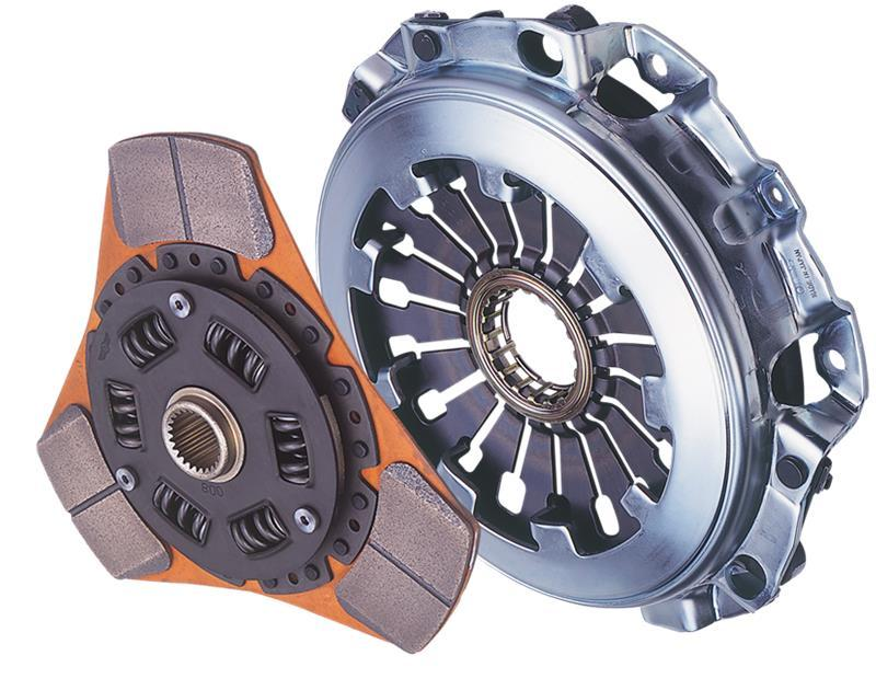 Exedy 2002-2006 Acura RSX Base L4 Stage 2 Cerametallic Clutch 4 Puck Disc Incl. HF02 Lightweight FW