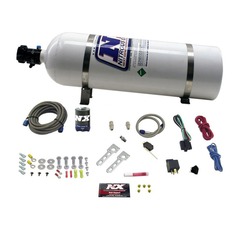 Nitrous Express Diesel Stacker 2 Nitrous Kit w/15lb Bottle