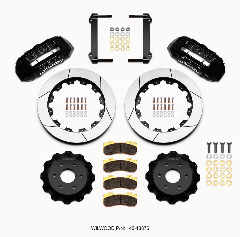 Wilwood TX6R Front Kit 16.00in Black 1999-2014 GM Truck/SUV 1500